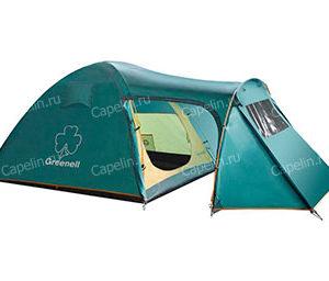 Палатка четырехместная с тамбуром Каван 4 GREENELL