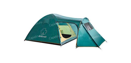 Палатка двухместная с тамбуром Каван 2 GREENELL