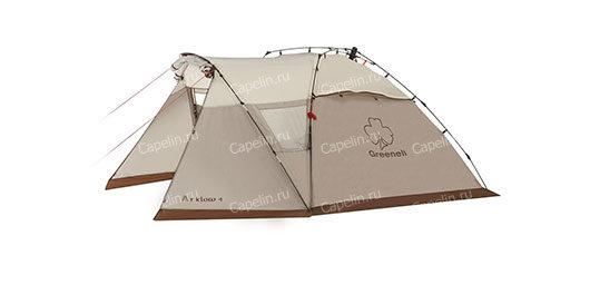 Палатка с автоматическим каркасом Арклоу 4 GREENELL