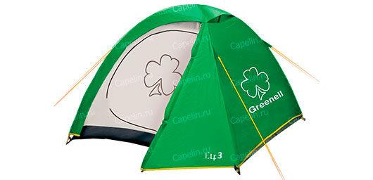 Палатка Эльф 3 V3 GREENELL Зеленая