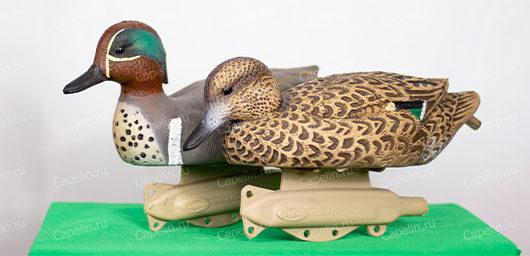 Чучела уток Чирок-свистунок Flambeau Stormfront Classic Green Winged 6 штук комплект