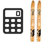 Таблица-калькулятор подбора охотничьих лыж