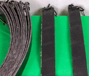Крепления транспортерная лента для охотничьих лыж. Носковой ремень