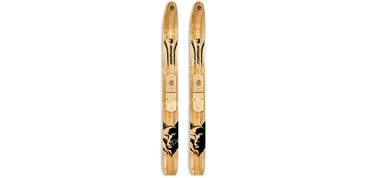 Лыжи Охотник деревянные 165см