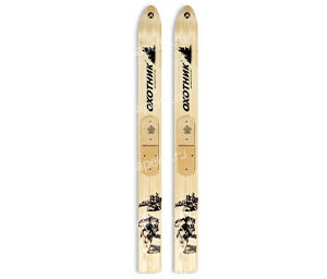 Лыжи Охотник дерево-пластик 175см
