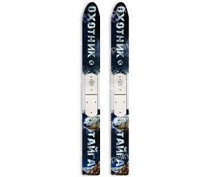 Лыжи охотничьи Тайга дерево-пластик 175см
